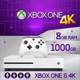 Consola Microsoft Xbox One S 4k 1 Tb 1000gb + Juego Elección