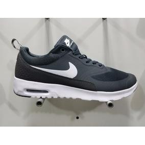 Gris Mercado Nike Air De Hombre Thea Zapatos En Max Oscuro YgyIm6f7bv