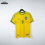 Camiseta Seleccion Brasil 1998 Brazil Ronaldo El Fenomeno