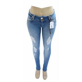 Calça Jeans Afront Estilo Pit Bull Forma Pequena Lycra R 113
