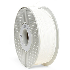 Filamento Pla 3d De 1,75 Mm 1 Kg Verbatim Blanco 55251