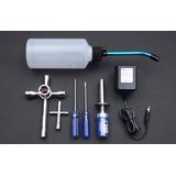 Kit Starter Abastecedor Aquecedor Vela Chave Automodelo Rc