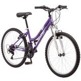 Bicicleta Montaña Rodada 24 Mujer Roadmaster Granite Peak