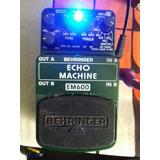 Pedal Behringer Echo Machine Em600 Delay