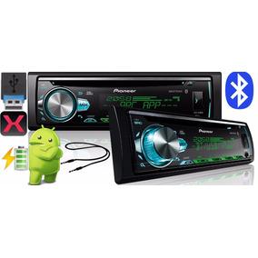 Cd Player Mp3 Pioneer Deh -x50br Bluetooth Usb- Frete Grátis