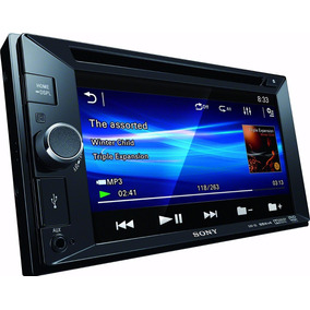 Reproductor Tactil Sony Xav 65 Double Din Screen 6.2 Player