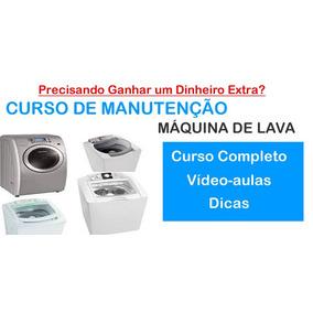 Curso 11 Dvds Manutenção Em Maquinas De Lavar Roupas A27
