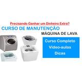 Curso 11 Dvds Manutenção Em Maquinas De Lavar Roupas A7