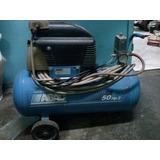 Compresor De Aire Abac De 50 Lts. Y 2 Hp Usado Buen Estado!!