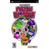 Capcom Quebra-cabeça Do Mundo - Sony Psp
