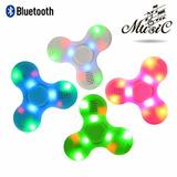 Spinner Bocina Bluetooth Con Luz Led
