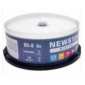 25 Bd-r Blu-ray New Star 6x 25gb Bluray Printable
