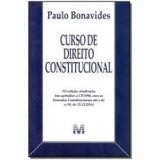 Curso De Direito Constitucional 32ed/2017 / Paulo Bonavides