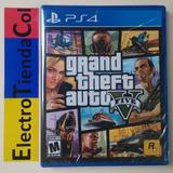 Grand Theft Auto 5 Gta 5 Ps4 Físico Nuevo Sellado Español