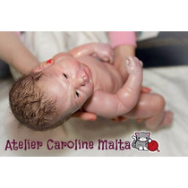 Bebê Reborn Corpo Inteiro Vinil Menina