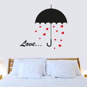 Adesivo Decorativo Guarda Chuva Love