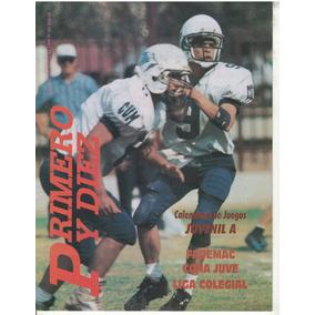 Futbol Americano Revista Primero Y Gol No 81