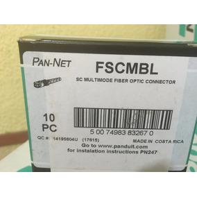 Fscmbl Conector Fibra Optica Sc Multimodo Panduit