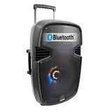 Velikka Bocinas Bluetooth Amplificada Karaoke Usb Vkk-15l Ne