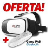 Lentes Vr Box + Control Bluetooth 3d Samsung Lg Nokia Apple