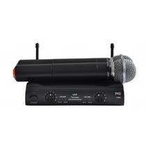 Microfone Sem Fio Duplo Mão / Mao Uhf Profissional Jwl