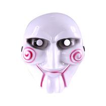 Máscara Jogos Mortais Jigsaw Fantasia Boneco Billy
