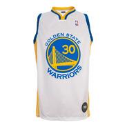 Camiseta Nba Golden State Warriors Curry Blanca Basket