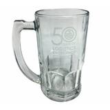 24 Chop De Cerveza De Vidrio Personalizados Con Logo Grabado
