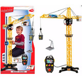 Grua Gigante Control Remoto 360º De 1mt Dickie Toys Smile