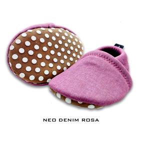 Zapato Zapatilla Pantufla Bebe Antideslizante Neoprene Mooll