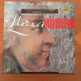 Disco Lp Acetato Mozart Modern