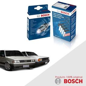 Kit Jogo Cabo+velas Orig Bosch Parati 1.6 8v Ae Alc 89-93