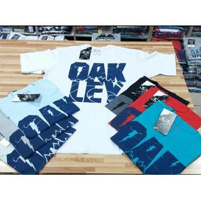 Kit Duas Camisa Camiseta Oakley Originais Lançamentos