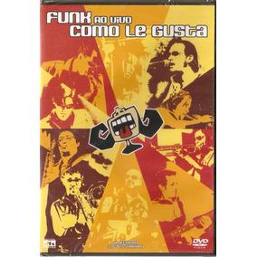 Dvd Funk Como Le Gusta - Ao Vivo - Novo***