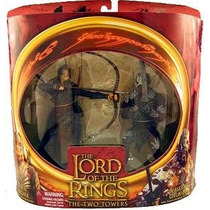 Lord Of The Rings Set Elven Archer Vs Berserker Uruk Hai