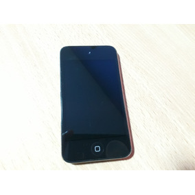 Ipod Touch 4g / 8gb / Caja Y Cable Original + Funda