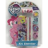 My Little Pony Kit Escolar Cartuchera Y Stickers 09326