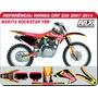 Kit De Adesivos - Crf 230 - Makita Rocksta - Qualidade 3m