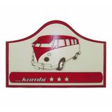 Placa Kombi - Churrasco - Para Área De Lazer