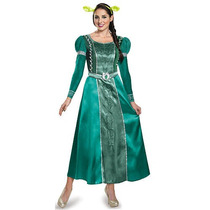 Dreamworks Para Mujer Shrek Princesa Fiona Deluxe Disfraces