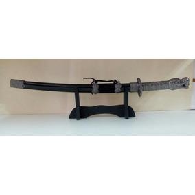 Espada Samurai Decorativa Suporte Ninja