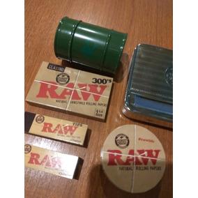 Combo Maquina Armar Tabaco Automatica Papeles Filtro Picador