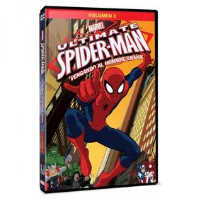 Dvd - Ultimate Spider-man Vol 3: Vengando Al Hombre Arana