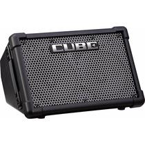 Amplificador Multiuso Portátil Roland Cube Street A Bateria
