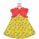 Kit C/ 2 Vestidos Infantis Tam 1 - Frete Único - R$10