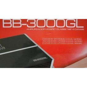 Módulo Amplificador B.buster Ss1 Bb-3000gl 4 Canais- 3000w