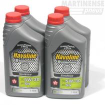 Kit Oleo Havoline 5w30 + Filtros Hyundai I30 2009 Em Diante