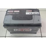 Bateria Detroit 12v (voltios) X 75a (amperes)