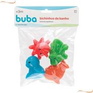 Kit Bichinhos De Banho Esguicha Água Brinquedo Bebê +3m Buba