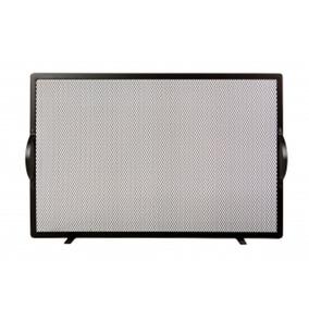 Tela Grade De Proteção Para Lareira 75 X 50 Cm